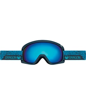 Dragon D3 2017 Snowboard Goggles - Stone Blue/Dark Smoke