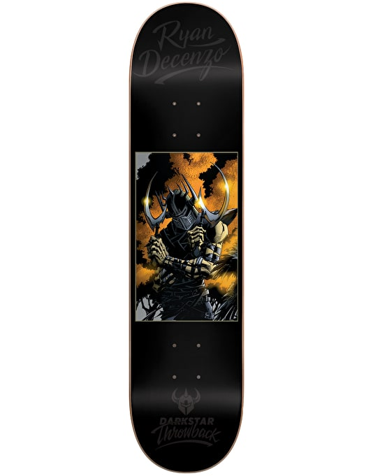 Darkstar Decenzo Throwback Impact Light Skateboard Deck - 8""