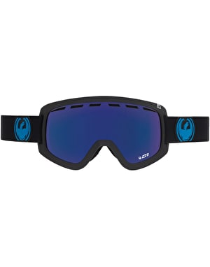 Dragon D1 2017 Snowboard Goggles - Jet/Dark Smoke Blue