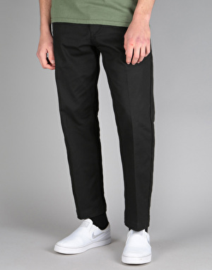 Obey Straggler Flooded Pant - Black