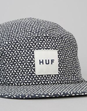 HUF Surfs Down Volley 5 Panel Cap - Navy