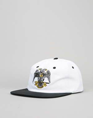Theories 33rd Degree Snapback Cap - White/Black