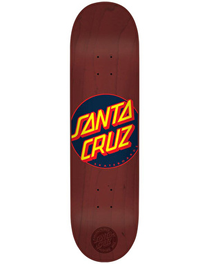 Santa Cruz Classic Dot Team Deck - 8.375