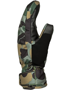 DC Seger 2017 Snowboard Mitts - Camouflage Lodge Men