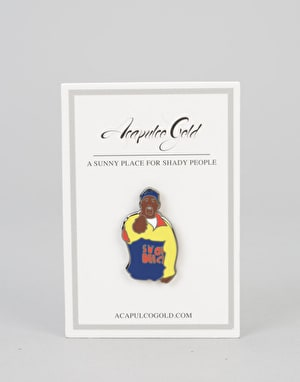 Acapulco Gold x Pintrill Lapel Pins - Chef