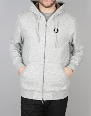 Etnies E-Base Zip Sherpa Hoodie - Grey/Heather