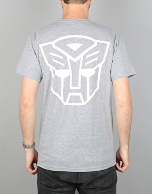 Primitive x Transformers Autobots T-Shirt - Ash Heather