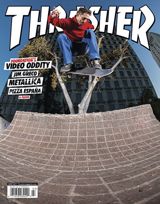 Thrasher Magazine Issue 440 March 2017