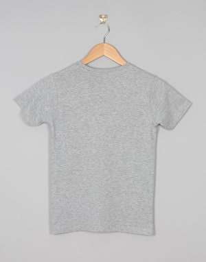 Santa Cruz Stack Fade Boys T-Shirt - Dark Heather