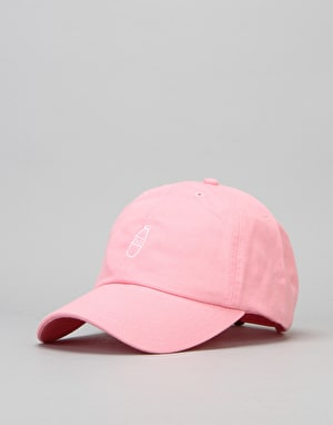 40's & Shorties Scribble Bottle Logo Unstructured Strapback Cap - Pink