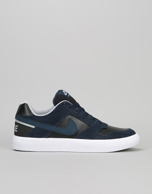 Nike SB Delta Force Skate Shoes Mens Navy/Black Skateboarding Trainers Sneakers