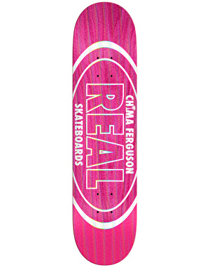 Real Chima Holographic Oval Pro Deck - 8.25