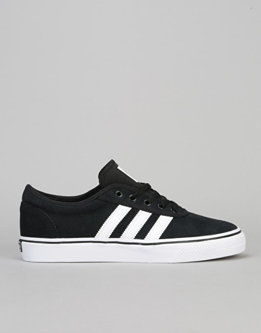 Adidas Adi-Ease Skate Shoes - Core Black/Ftwr White