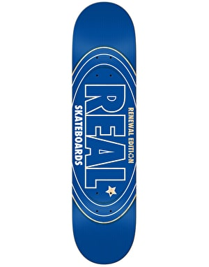 Real Renewal Oval Team Deck - 7.75