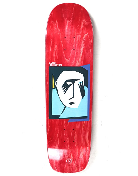 Polar Herrington Cut Out Portrait Skateboard Deck - P1 Shape 8.75""