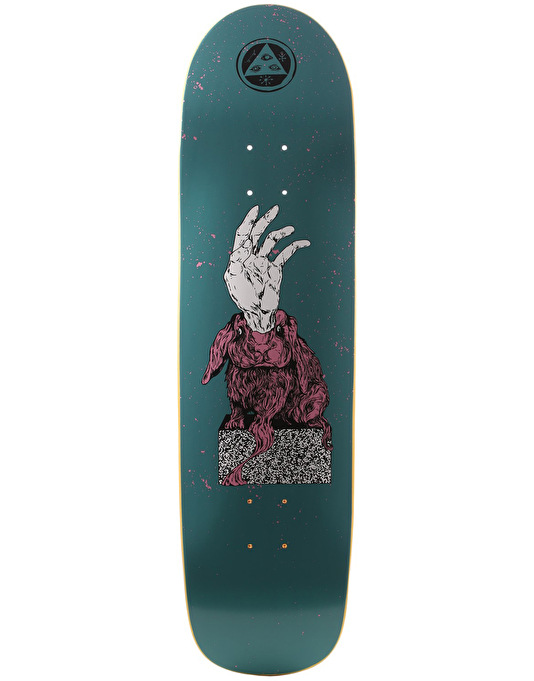 Welcome Magic Bunny on Son of Planchette Skateboard Deck - 8.38""