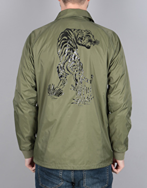 Diamond Supply Co. Pacific Tour Coach Jacket - Military Green