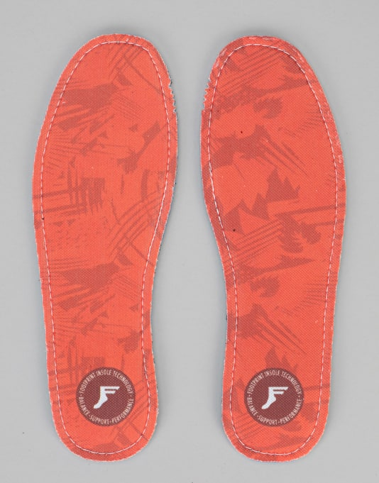 Footprint Red Camo 5mm Kingfoam Flat Insoles