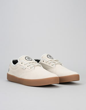 Etnies x Flip Jameson Vulc Skate Shoes - White/Gum