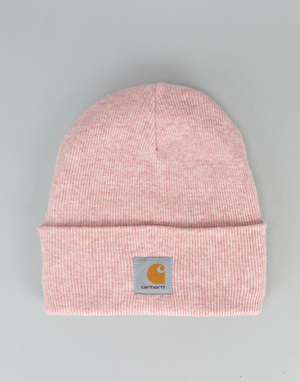 Carhartt Acrylic Watch Beanie - Soft Rose Heather