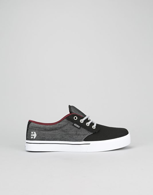 Etnies Jameson 2 Eco Boys Skate Shoes - Black/Denim