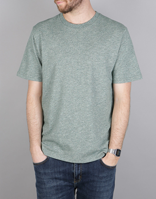Carhartt S/S Holbrook T-Shirt - Conifer Noise Heather