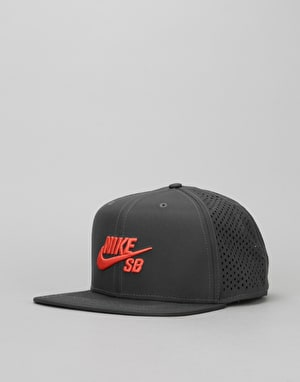 Nike SB Performance Trucker Cap - Anthracite/Black/Max Orange