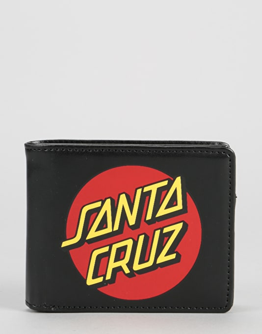 Santa Cruz Classic Dot Wallet - Black/Red