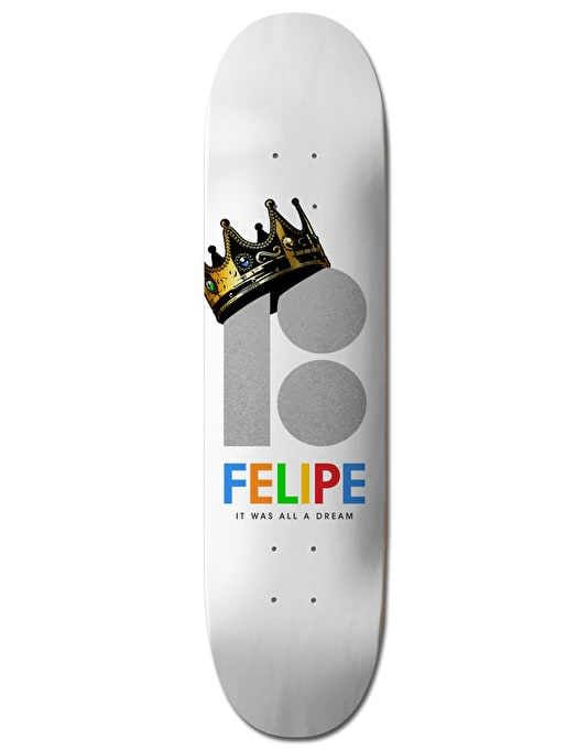 Plan B Felipe Royalty BLK ICE Pro Deck - 8.25""