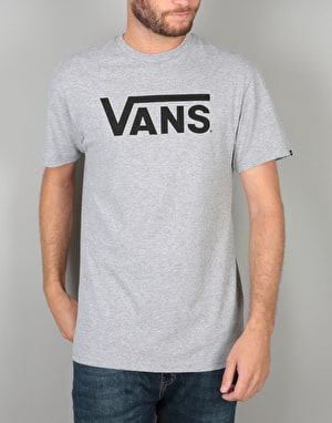 Vans Classic T-Shirt - Athletic Heather/Black