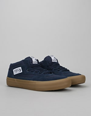 Vans Half Cab Pro Skate Shoes - Navy/Gum