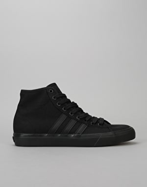 Adidas Matchcourt High RX Skate Shoes - Core Black/Core Black