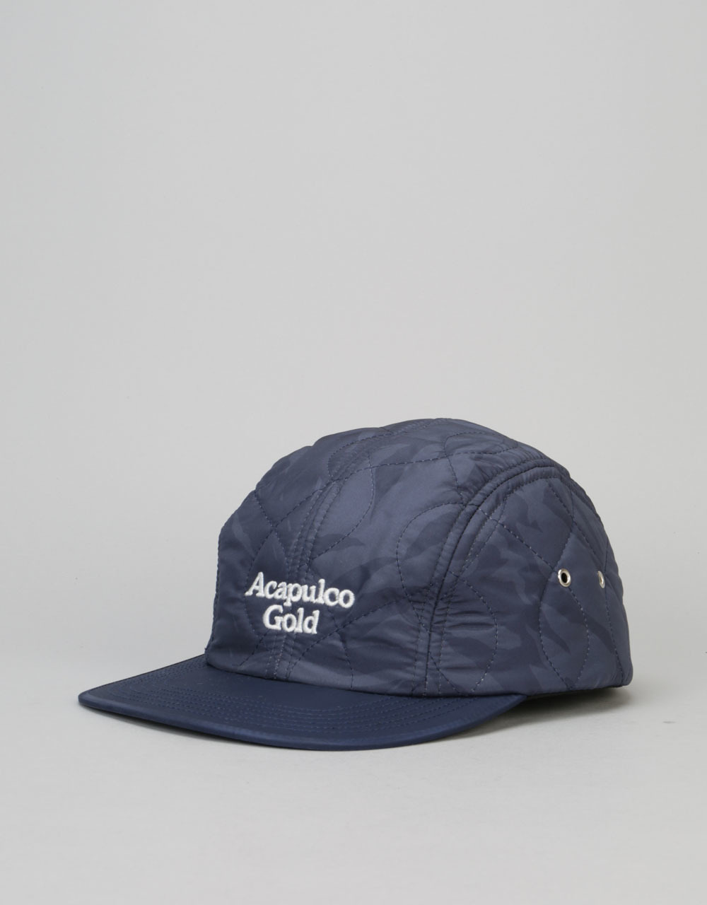 d97c17046b Acapulco Gold Outland Quilted Sport 5 Panel Cap - Navy Camo
