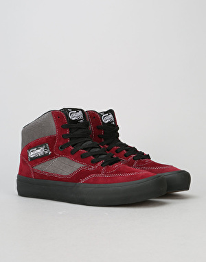 Vans Full Cab Pro 50th Anniversary Skate Shoes - '89 Burgundy/Grey