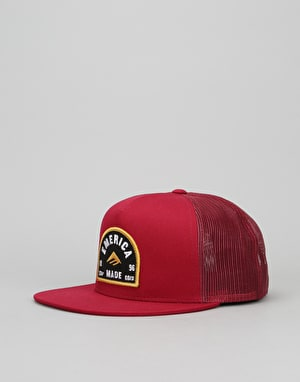 Emerica Blitzed Trucker Cap - Oxblood