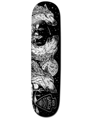 Element x Timber! Garcia Wolves Featherlight Pro Deck - 8.25