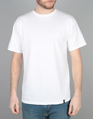HUF Triple Triangle Puff T-Shirt - White