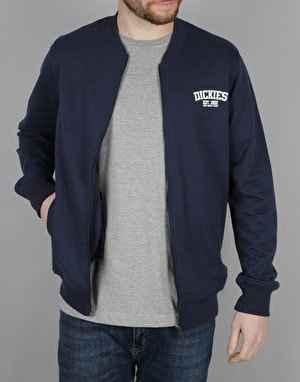 Dickies Pineville Zip Sweat Jacket - Navy