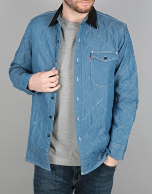 Levi's Skateboarding Quilted Mason  Jacket - Washed Mason