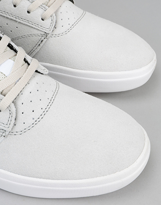 Lakai Griffin XLK Skate Shoes - White Suede