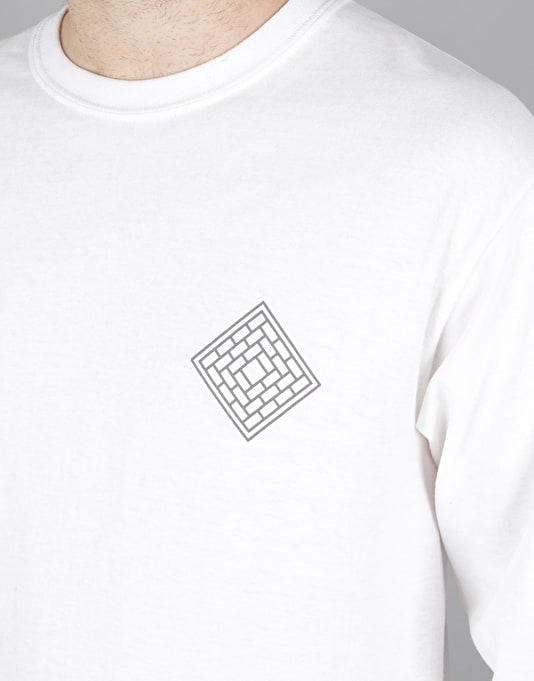 The National Skateboard Co. Rose L/S T-Shirt - Black