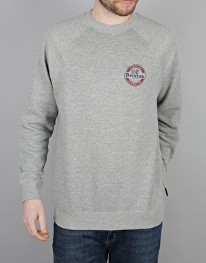 Brixton Soto Sweatshirt - Heather Grey