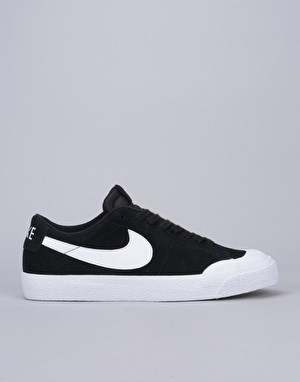 Nike SB Blazer Low XT Skate Shoes - Black/White-Gum Light Brown-White
