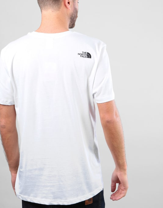 The North Face S/S Simple Dome T-Shirt - White