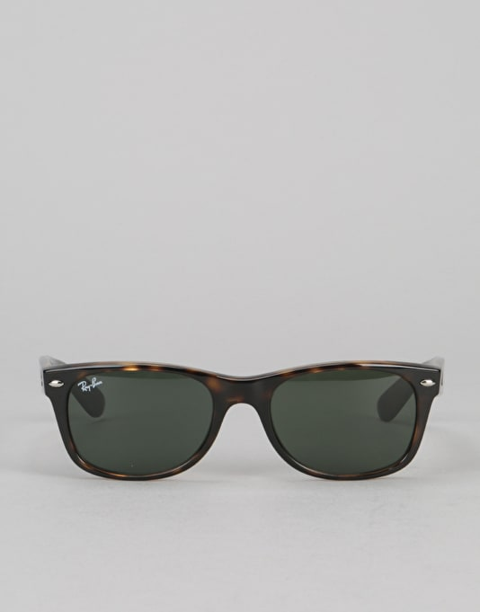 Ray-Ban New Wayfarer Classic - Tortoise Green G-15 Lens RB2132 902   Wayfarer  Sunglasses   Accessories   Route One 01bf400bc775