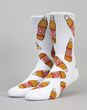 40's & Shorties 40s Original Socks - White