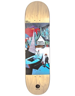 Polar Boserio AMTK Rainbow Valley Skateboard Deck - 8.625