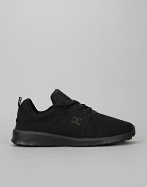 DC Heathrow Skate Shoes - Black/Black/Black