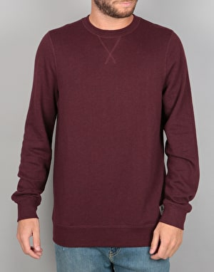 Element Cornell Overdye Crew Sweatshirt - Napa Red