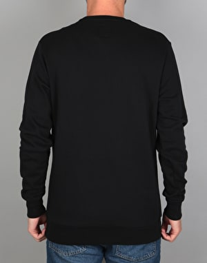 Etnies E-Lock Crew Sweatshirt - Black/Grey